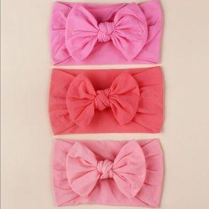 🚨SALE🚨 Baby bow knot decor headband - 3PCS